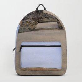 Godrecy Beach Cornwall Engand Backpack