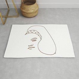 Eartha Kitt - White Rug