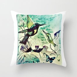 Being Second Place Throw Pillow