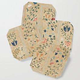 Uzbekistan Suzani Nim Embroidery Print Coaster
