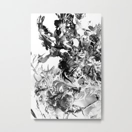 floating roots ed. 2 Metal Print