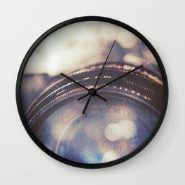 Vintage Zenit-B Camera Diptych Wall Clock