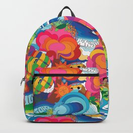 Hidden Hawaiian Holiday Backpack