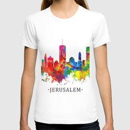 Jerusalem Israel Skyline T-shirt