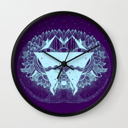Some there out in the he space Wall Clock