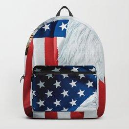 Bald Eagle American Flag Nobility & Grandeur Backpack