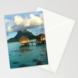 Bora Bora Tahiti Bungalow 2 Stationery Cards