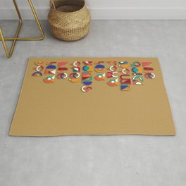 The quick brown Fox - Picasso Typo Rug