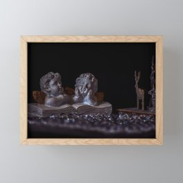 Concept Christmas : Angels Framed Mini Art Print