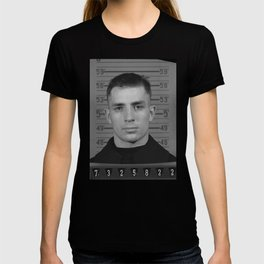 Jack Kerouac Naval Enlistment Mug Shot T-shirt