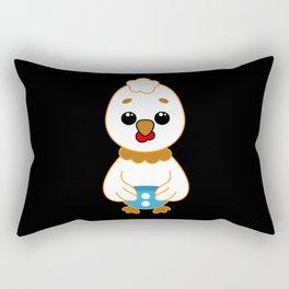 Sweet Cartoon Animals Baby Chicken Rectangular Pillow