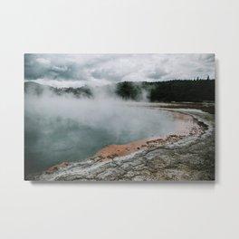New Zealand, sulphur lake Wai-o-tapu - Fine art photo  Metal Print