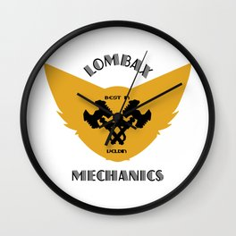 ratchet and clank mechanics Wall Clock