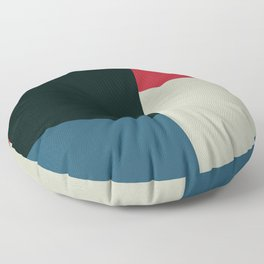 Geometric Panel Floor Pillow
