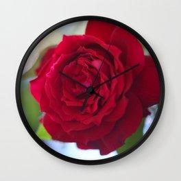 Rose Heart Wall Clock