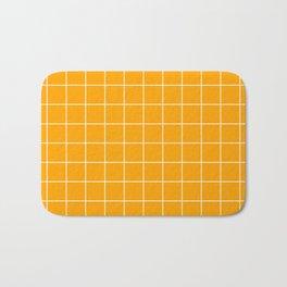 Marigold Grid Badematte