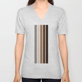 Stripes Pattern No.24 Unisex V-Neck
