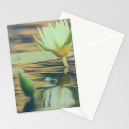 Waterlily 2 Stationery Cards