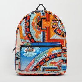 Hindu Buddhist Mandala 18 Backpack