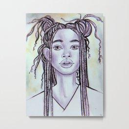 willow  Metal Print
