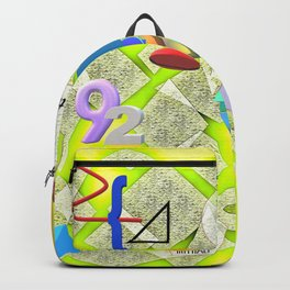 I Love Math Backpack