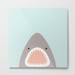 shark attack Metal Print
