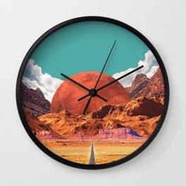 Mars West Wall Clock