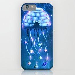Christmas Jellyfish iPhone Case