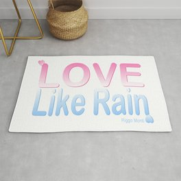 Riggo Monti Design #13 - Love Like Rain Rug