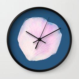 Petal by Abi Roe Wall Clock