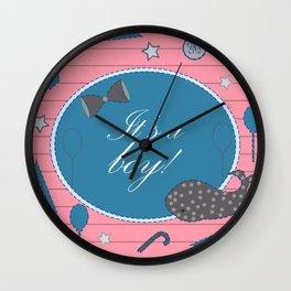 My Boy Wall Clock