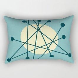 1950s atomic design Rectangular Pillow