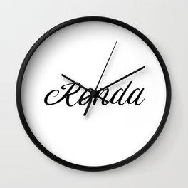 Name Ronda Wall Clock