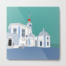 Greenwich observatory Metal Print