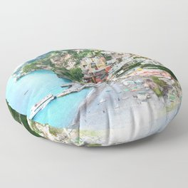 Picture perfect Positano Floor Pillow