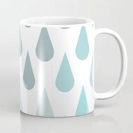 Rain Raindrops Coffee Mug