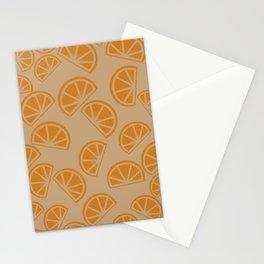 Orangey Orange Stationery Cards