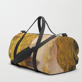 Gustav Klimt portrait The Kiss & The Golden Tears (Freya's Tears) No. 1 Duffle Bag