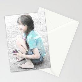 Sidewalk Chalk Stationery Cards