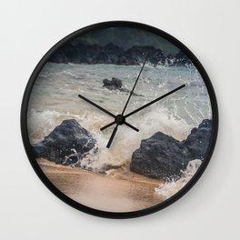 Splash Zone Wall Clock
