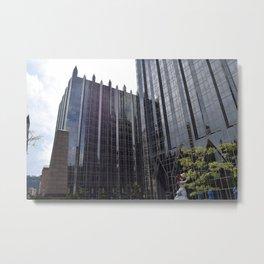 Pittsburgh Tour Series - Cityscape Metal Print