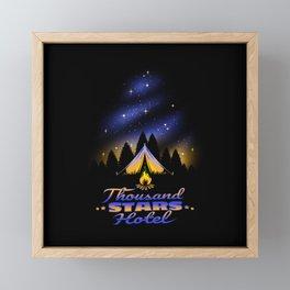 Thousand Stars Hotel Framed Mini Art Print