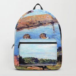 Young anglers at Hayle - Stanhope Alexander Forbes Backpack