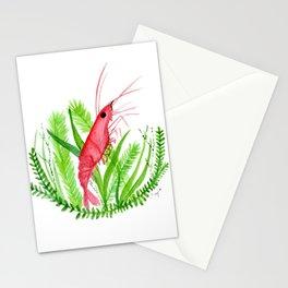 Shrimp-y Stationery Cards
