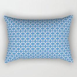 flower patten Rectangular Pillow