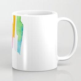 Abstract Painting Modern Art watercolor abstract art minimalist Follow Your Heart no.5 Coffee Mug