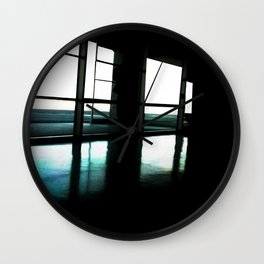 Lights Out For Darker Skies Wall Clock