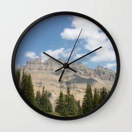 Jasper mountain Wall Clock