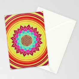 Flower Of Life 005 Stationery Cards