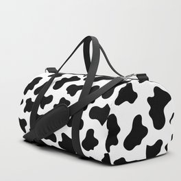 Moo Cow Print Duffle Bag